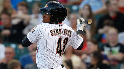 Jonathan Singleton posted a .754 OPS in 25 AFL games.
